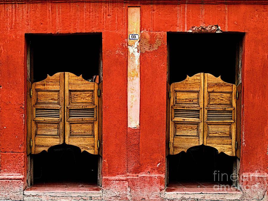 Darian Day Photograph - Saloon Door 2 by Mexicolors Art Photography & Saloon Door 2 Photograph by Mexicolors Art Photography