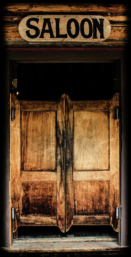 Saloon Photograph - Saloon Doors by Athena Mckinzie & Saloon Doors Photograph by Athena Mckinzie Pezcame.Com
