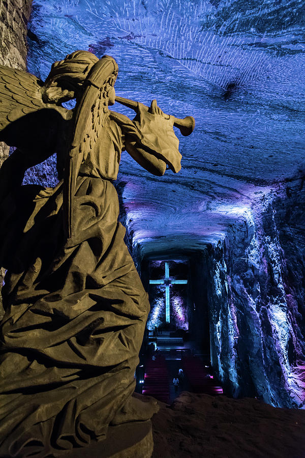 Salt Cathedral of Zipaquira by Jaime Mercado