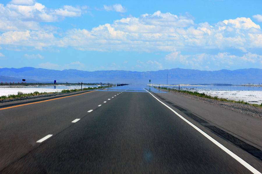 Salt Flat on the Road by Jodi Vetter