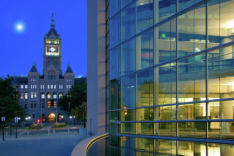 Salt Lake City Hall And Library Photograph