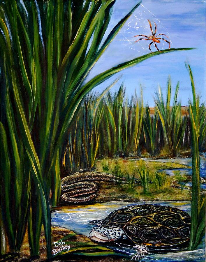 Salt marsh by Debra Bailey