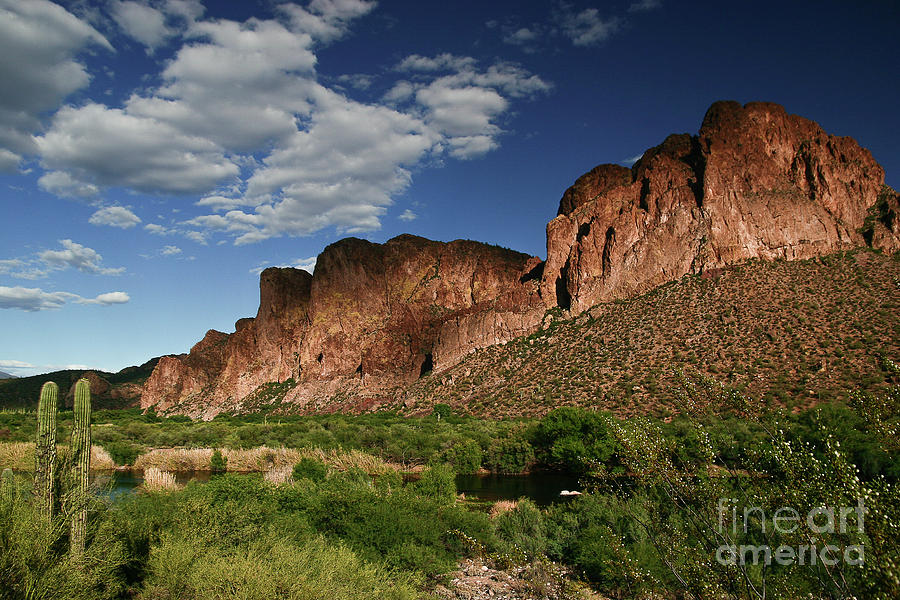 Salt River Mountains by Chandra Nyleen