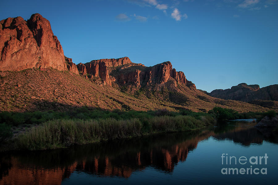 Salt River Reflections by Chandra Nyleen