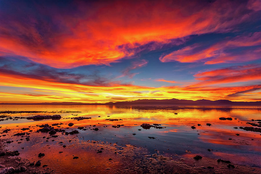 Salton Sea Sunset Photograph
