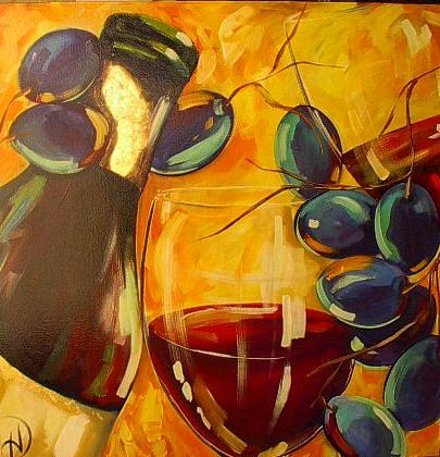 Salud Painting by Heather Roddy