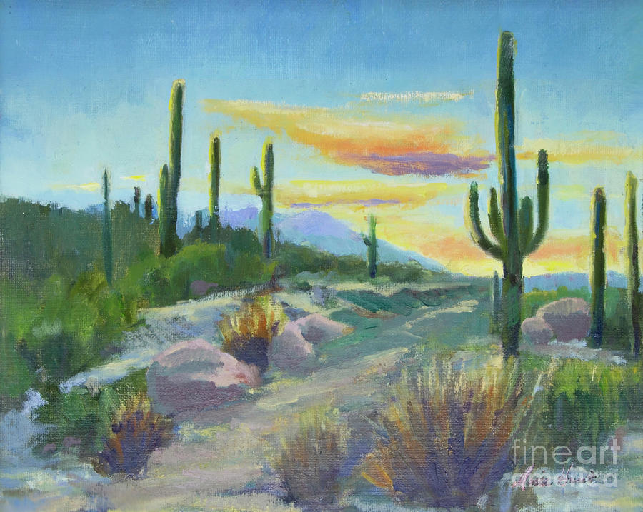 Salutation to the Tucson Sun by Maria Hunt