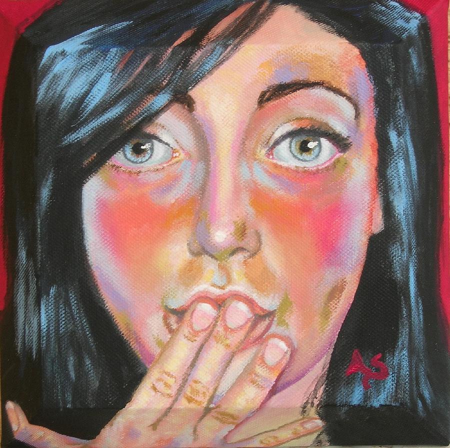 Saluti E Baci Painting by Annalisa Scornavacche