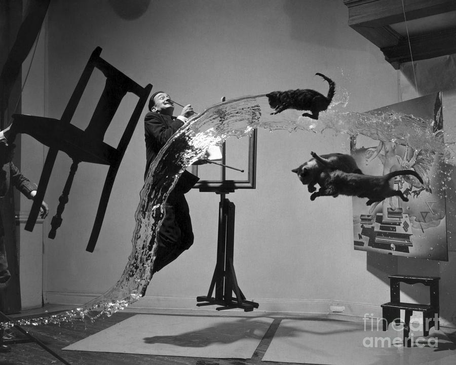 1948 Photograph - Salvador Dali 1904-1989 by Granger