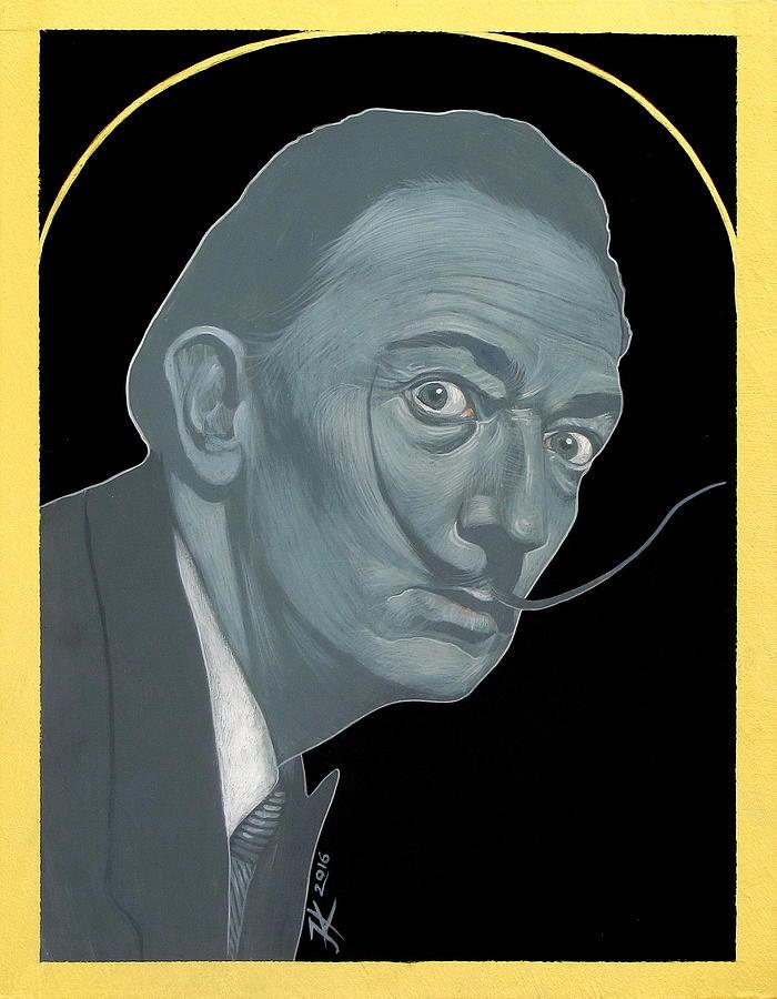 Salvador Dali Painting - Salvador Dali by Jovana Kolic