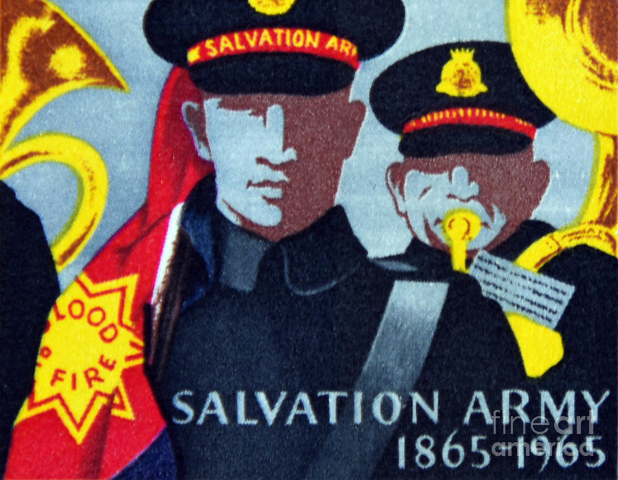 Salvation Army. Photograph by Stan Pritchard