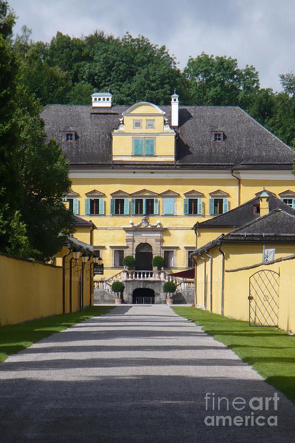 Austria Photograph - Salzburg Chateau by Carol Groenen