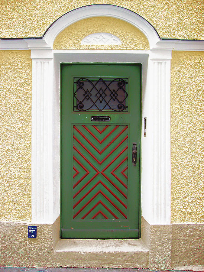 Door Photograph - Salzburg Door by Derek Selander