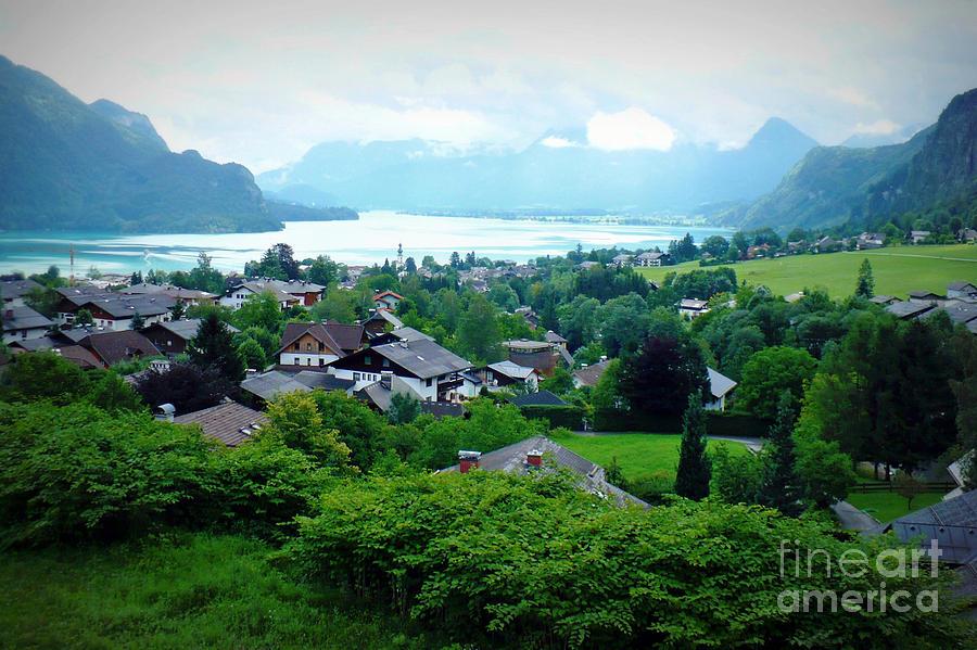 Austria Photograph - Salzburg Lake District by Carol Groenen
