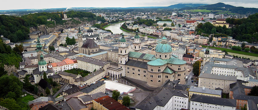 3scape Photograph - Salzburg Panoramic by Adam Romanowicz