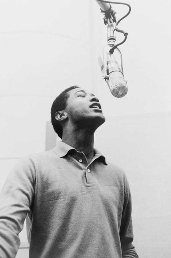 History Photograph - Sam Cooke, 1931-1964 Singing by Everett