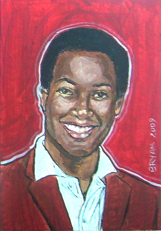 Sam Cooke Painting - Sam Cooke by Bryan Bustard