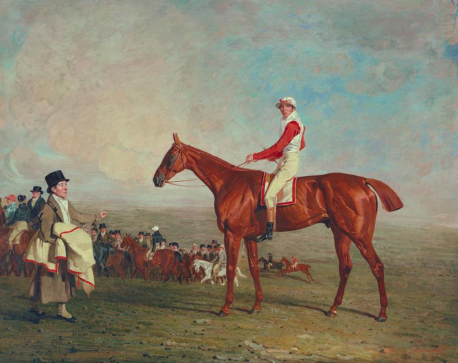 Horse Painting - Sam With Sam Chifney Jr. Up by Benjamin Marshall
