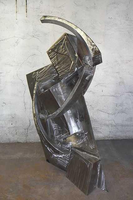 Samari Sculpture by Jerry Schmidt