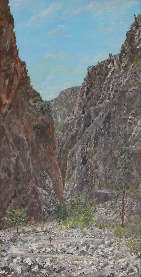 Samaria Gorge by David Capon