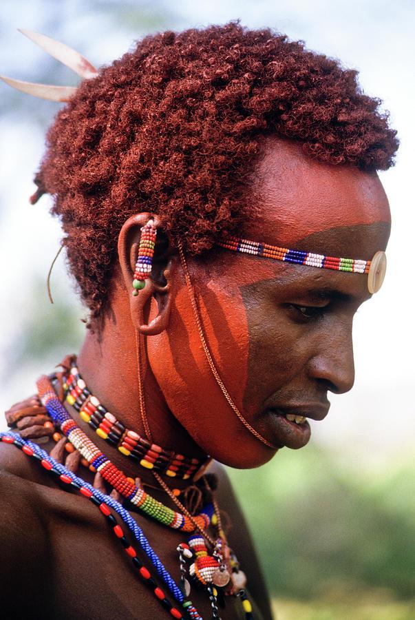 Africa Photograph - Samburu Warrior by Michele Burgess