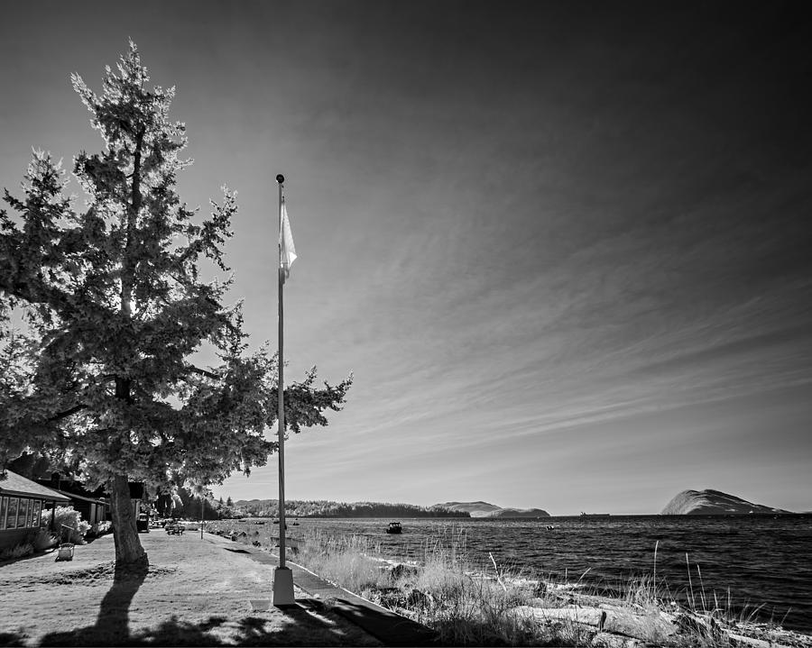 Samish Island Flag Photograph
