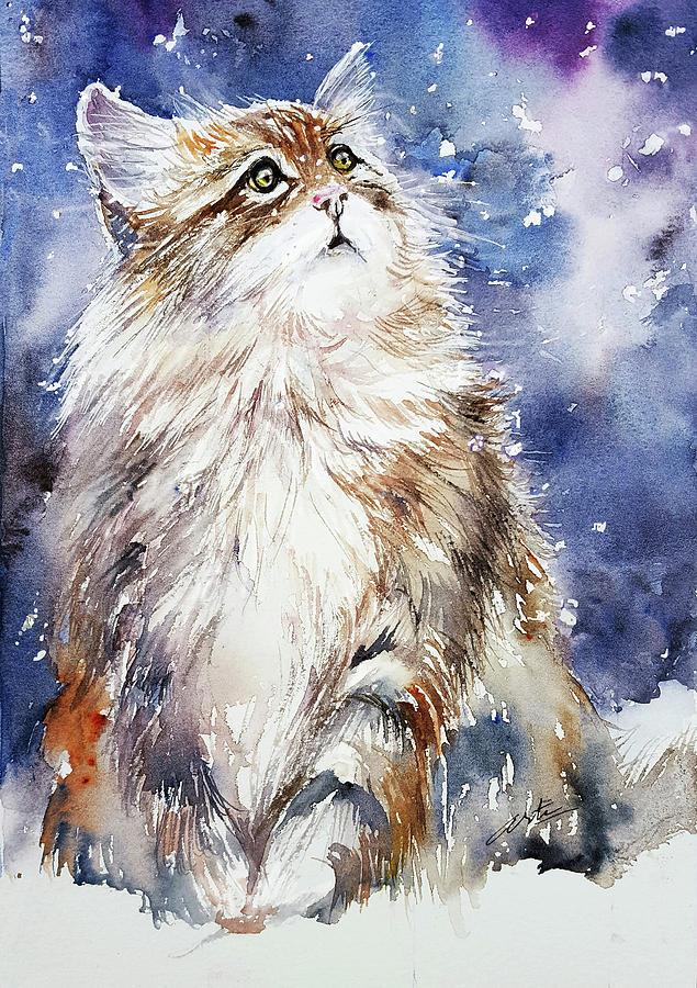 Sammy on Snow by Arti Chauhan