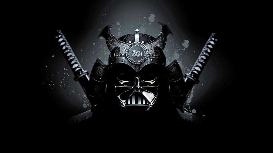 Samurai Darth Vader-1191 by Jovemini ART