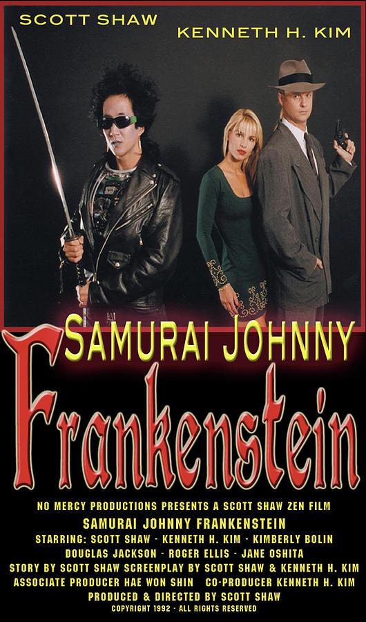 Scott Shaw Photograph - Samurai Johnny Frankenstein by The Scott Shaw Poster Gallery