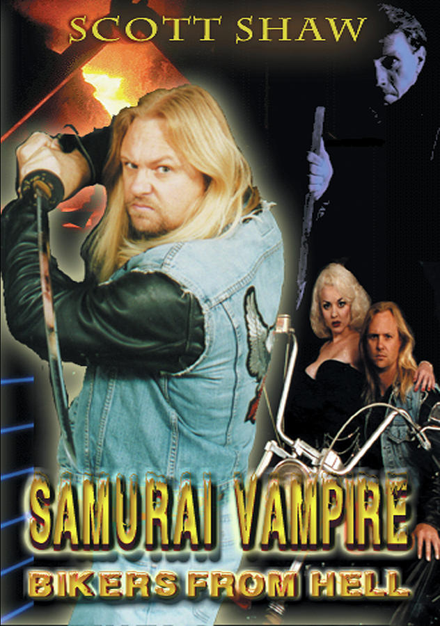 Zen Filmmaking Photograph - Samurai Vampire Bikers From Hell by The Scott Shaw Poster Gallery