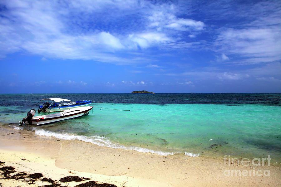 Beach Photograph - San Andres Island by John Rizzuto