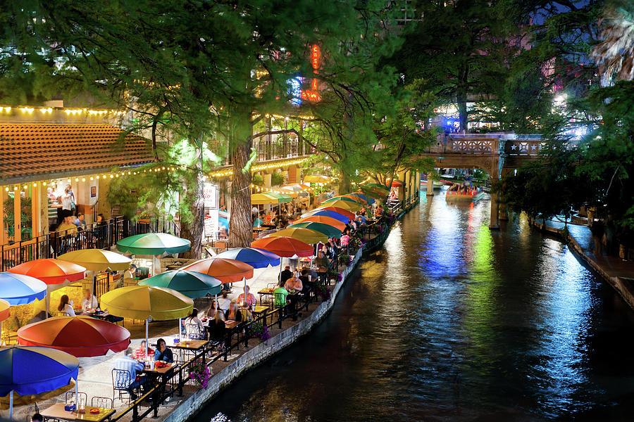 San Antonio River Walk 072716 by Rospotte Photography