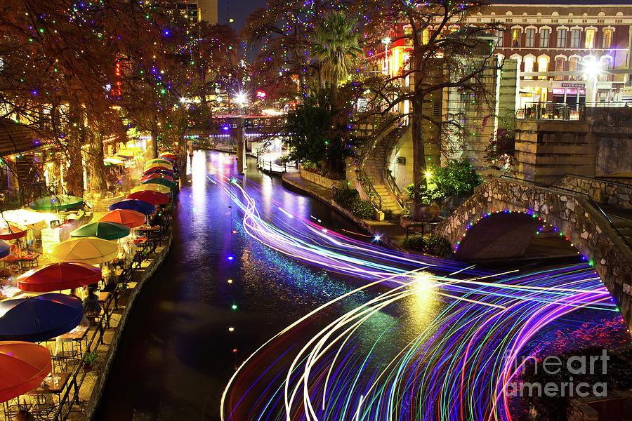 San Antonio River Walk by Michael Tidwell