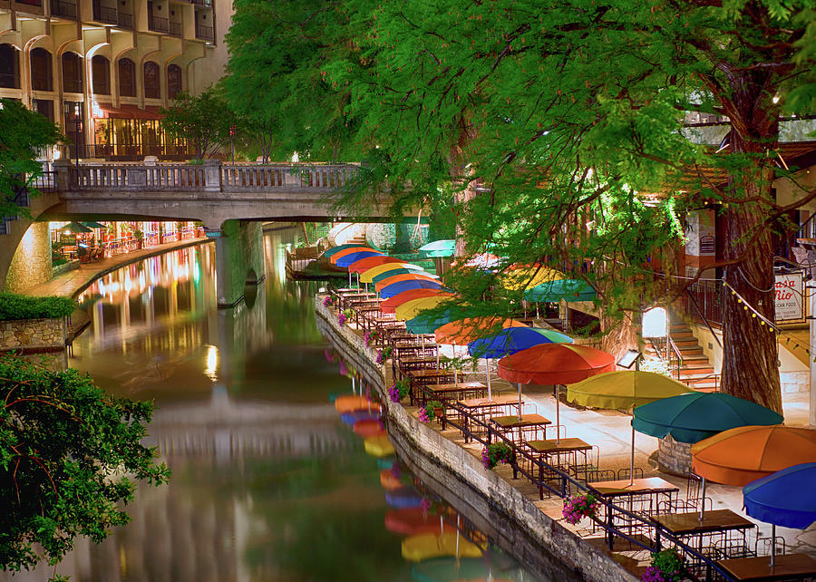 San Antonio Riverwalk 022817 by Rospotte Photography