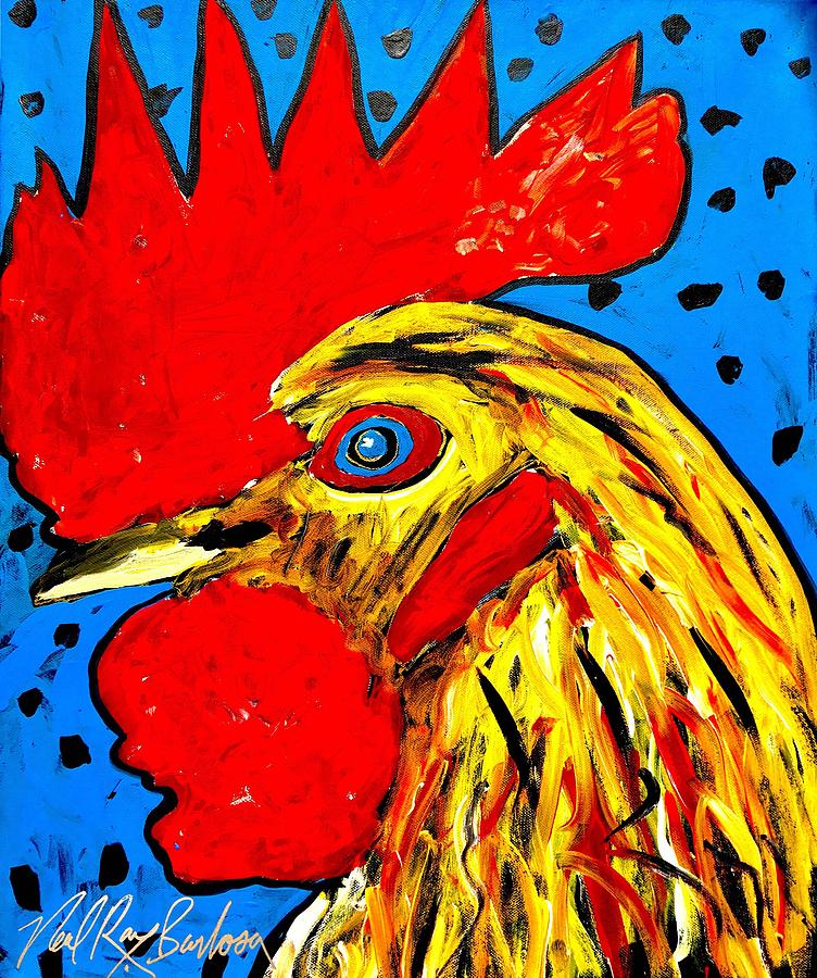 San Antonio rooster by Neal Barbosa