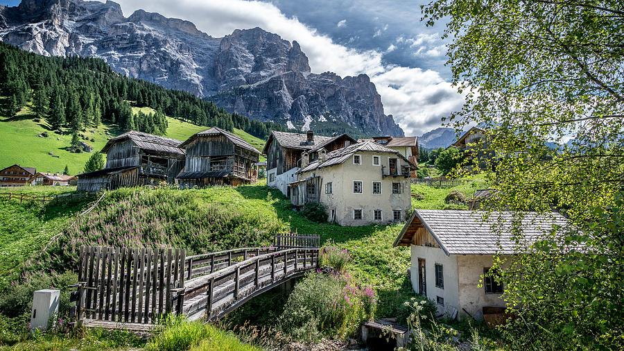 San Cassiano Alta Badia Italy Travel Landscape Photography Photograph By Giuseppe Milo