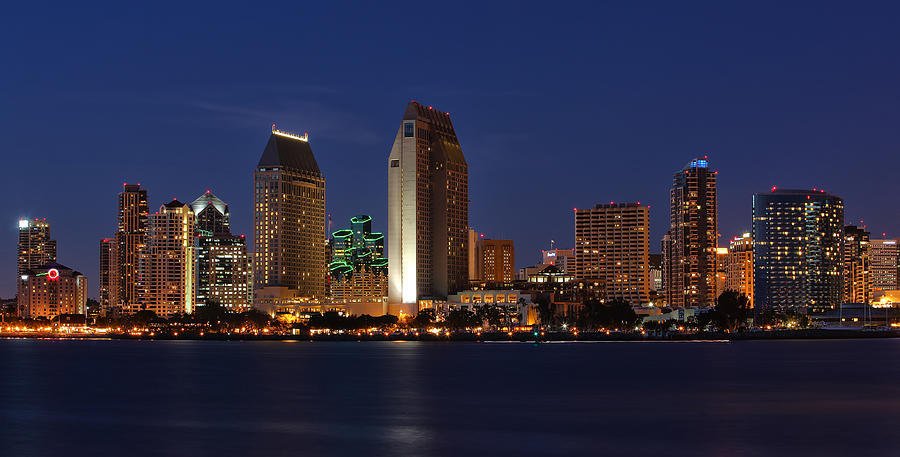 San Diego Photograph - San Diego Americas Finest City by Larry Marshall