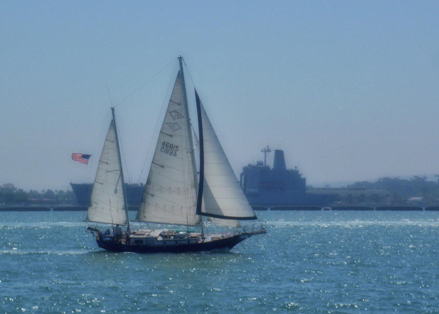 Water Photograph - San Diego Bay by JAMART Photography