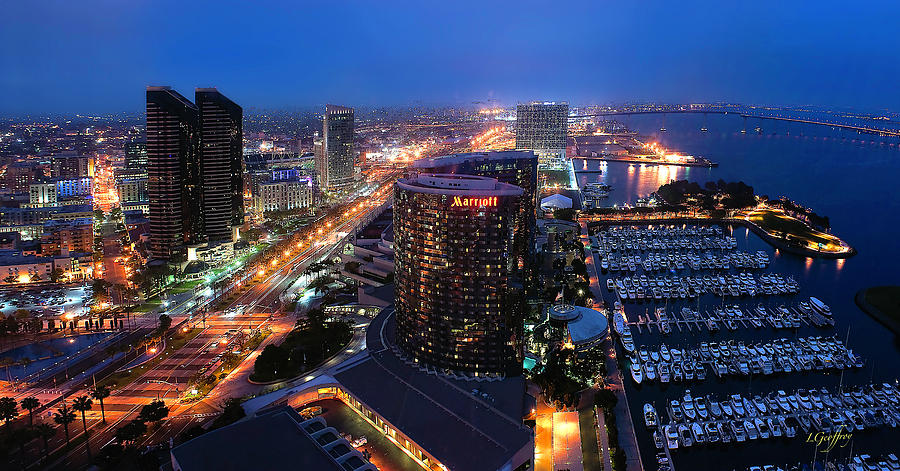 San Diego Bay by Lynn Geoffroy