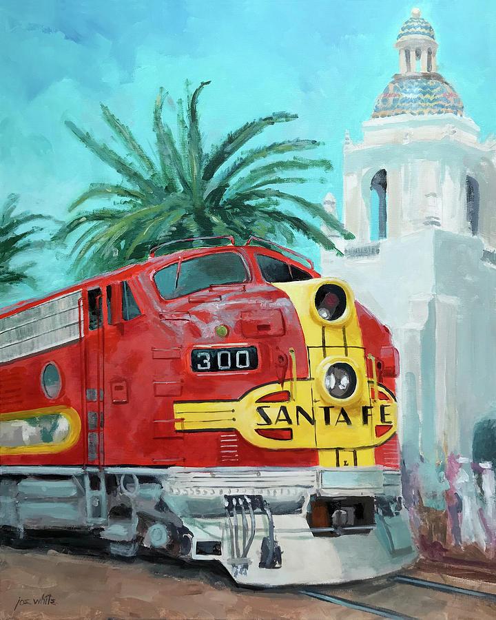 Chief Painting - San Diegan On Liberty by Joe White
