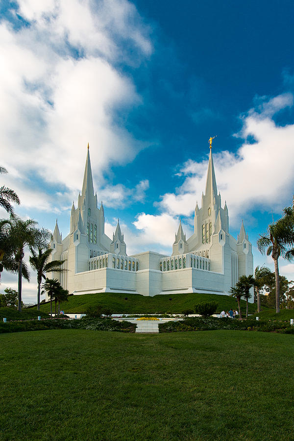 San Diego Lds Temple 2 Photograph By Alan Nix