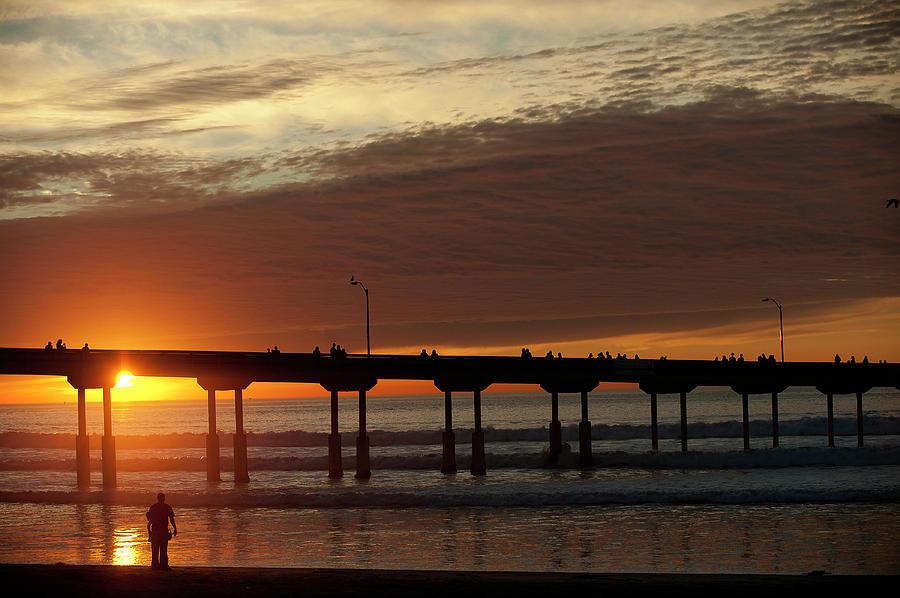 San Diego Sun Set Www Outsideimages Com Photograph By Paul