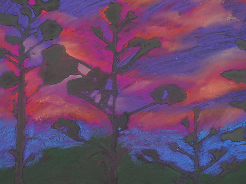 San Diego Mixed Media - San Diego Sunset by Leah  Tomaino