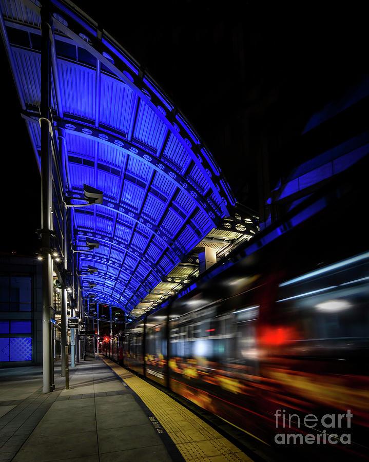 San Diego Trolley Photograph