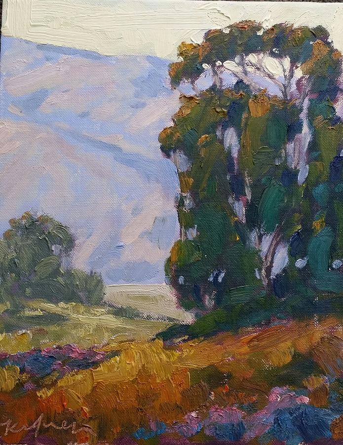 San Diego Valley Painting by Kevin Yuen