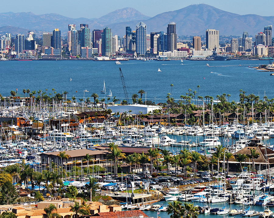 San Diego Yacht Club Photograph By Russ Harris