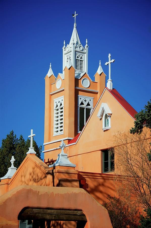 Albuquerque Photograph - San Felipe de Neri Church, Albuquerque, New Mexico by Zayne Diamond Photographic