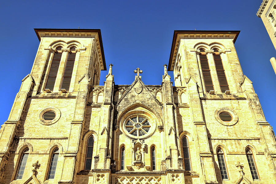 San Fernando Cathedral 1 by Judy Vincent