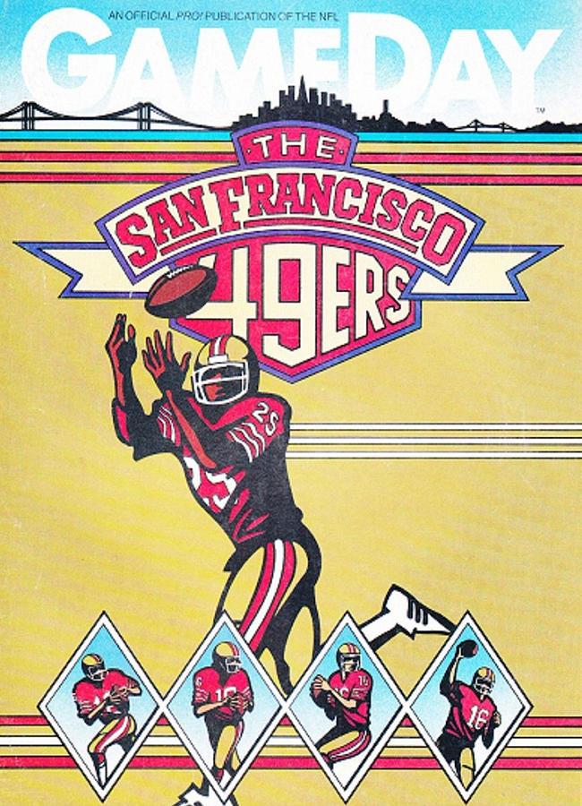 San Francisco 49ers Wall Art - Photograph - San Francisco 49ers Vintage Program by Joe Hamilton  sc 1 st  Fine Art America & San Francisco 49ers Art (Page #2 of 13) | Fine Art America
