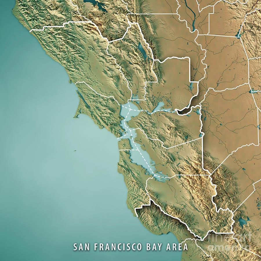 san francisco bay area map pdf